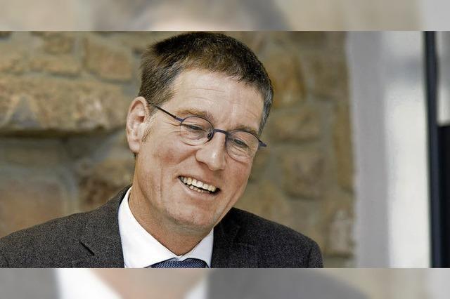 Jochen Paleit will weitere acht Jahre Bürgermeister von Kappel-Grafenhausen sein