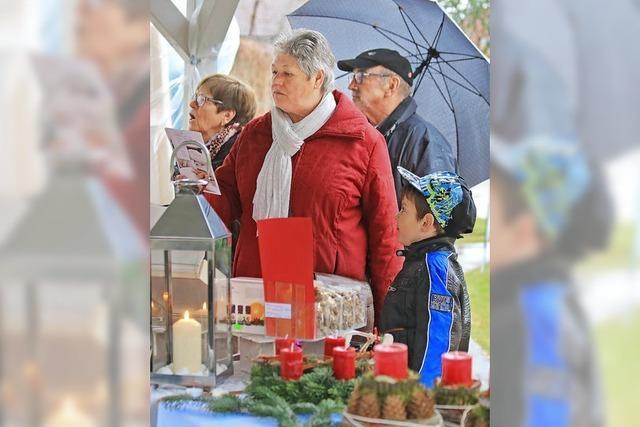 Weihnachtsmarkt in der