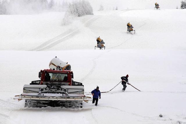Die Wintersportsaison hat begonnen