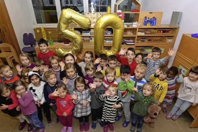 Den katholischen Kindergarten besuchen jetzt Kinder aus 17 Nationen