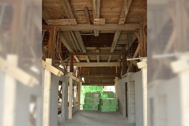 Gemeinderat stockt Budget für Scheunenausbau auf