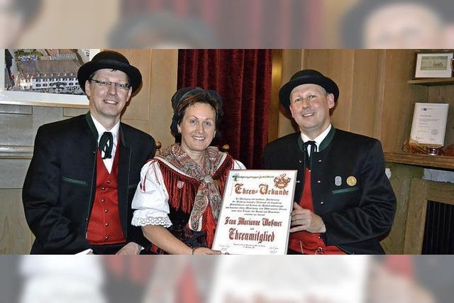 Zeller Trachtengruppe bewahrt die Tradition