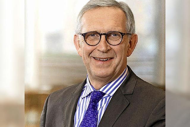FWTM-Chef erhält die Wirtschaftsmdeaille