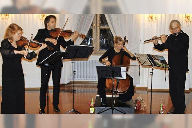 Vier Solisten bilden ein harmonisches Ensemble