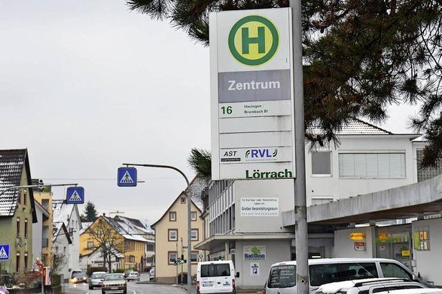 Kleinbus verbindet Ortsteile