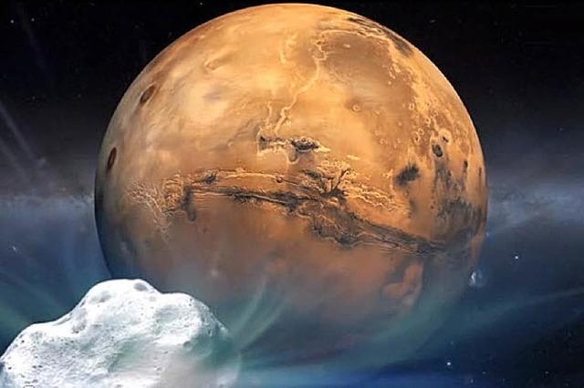 Leben auf dem Mars wäre möglich