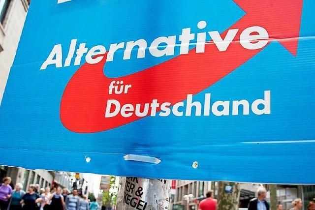 Kein Stand auf dem Marktplatz: AfD-Kandidat fühlt sich schlecht behandelt