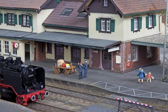 Modelleisenbahnen in Kenzingen