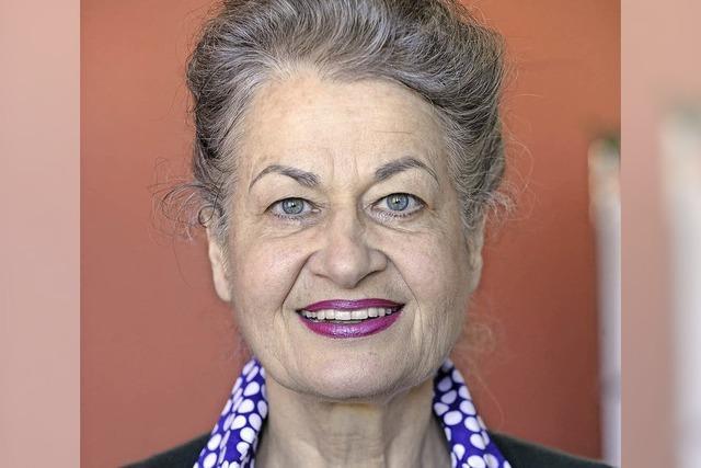 Ursula Cantieni mit einer persönlichen Auswahl von Gedichten