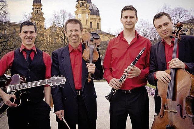 Quartett Passo Avanti präsentiert in Wehr Symbiose aus Musikgenres