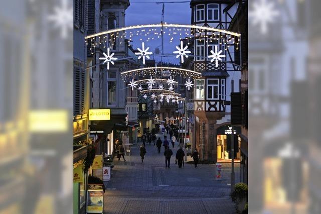 Neue Weihnachtsbeleuchtung