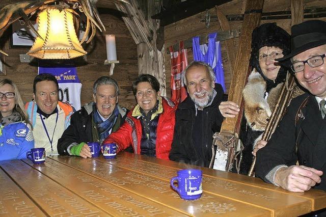 Eine Ecke voll Skigeschichte