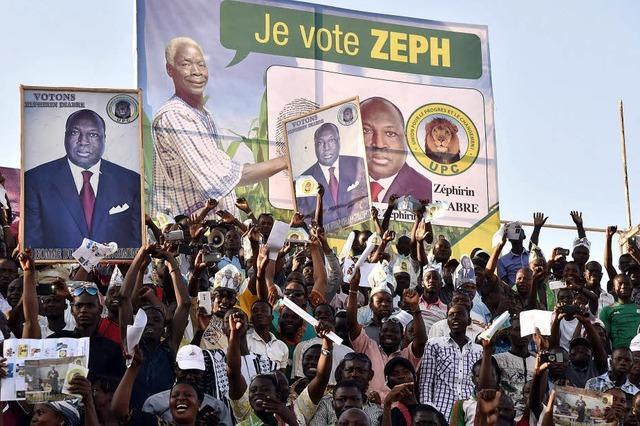 Burkina Faso steht vor den ersten freien Wahlen