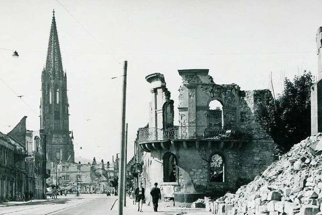 Als Freiburg brannte – aber das Münster stehen blieb