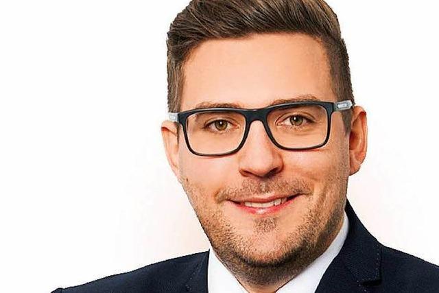Rafael Mathis bereitet Kandidatur in Friesenheim vor