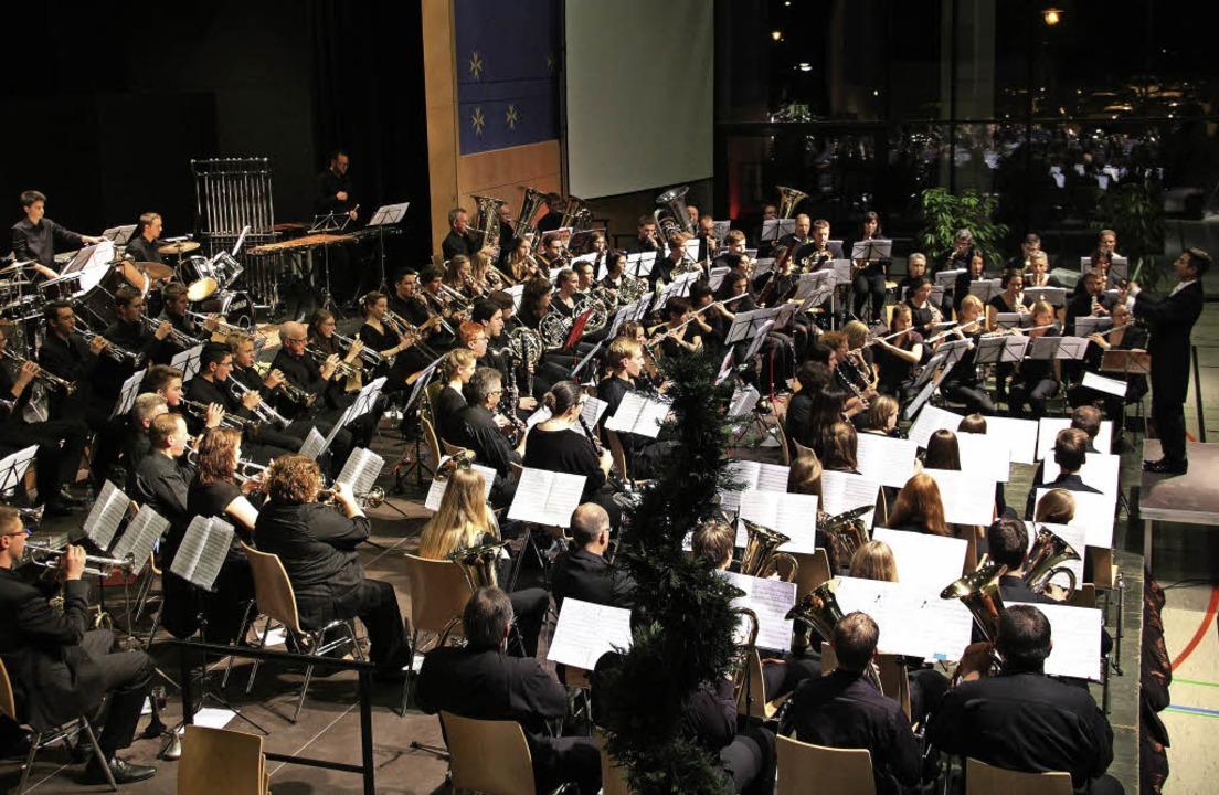 Volle Besetzung: Bei diesem Klangappar... ein Dirigent aus dem Vollen schöpfen.  | Foto: Sabine Model