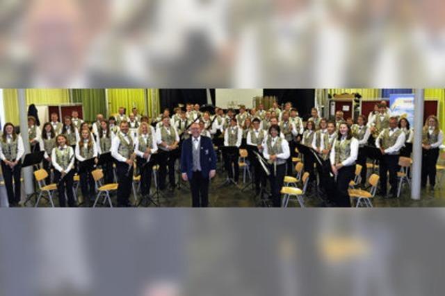 Jugendkapelle und Stadtmusik Neustadt in Titisee-Neustadt