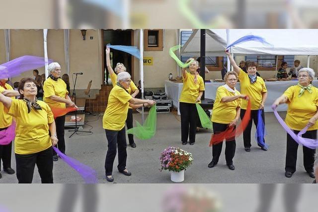 Die älteste Tänzerin ist 84 Jahre alt