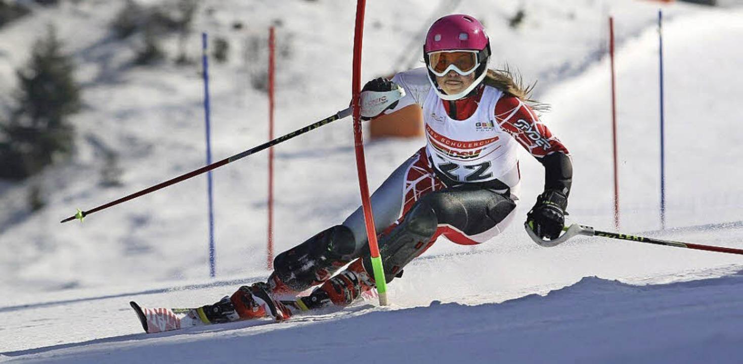 Carolin Ruckes aus Neustadt gehört auc...nd des Skiverbands Schwarzwald (SVS).   | Foto: BZ-Archiv: Martin Siegmund