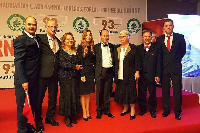Manfred Raupp ist Ehrenbürger von Edirne