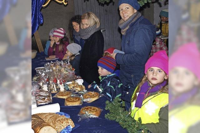 Vorweihnachtlicher Treff im Dorf