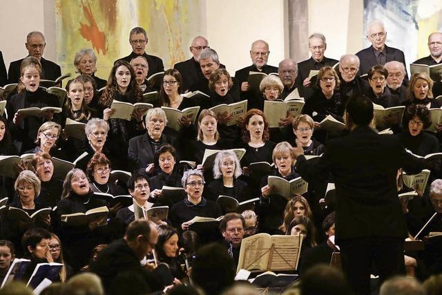 Weihnachtsoratorium der Kantorei in der Stadtkirche stimmt auf Advent ein