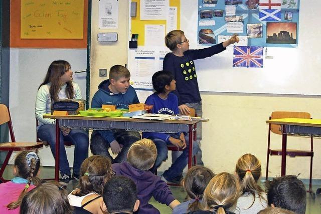 Schulprojekt: Gelerntes an andere weitergeben