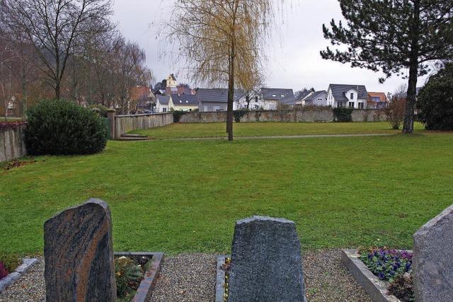 Wünsche zur Friedhofsgestaltung verändern sich