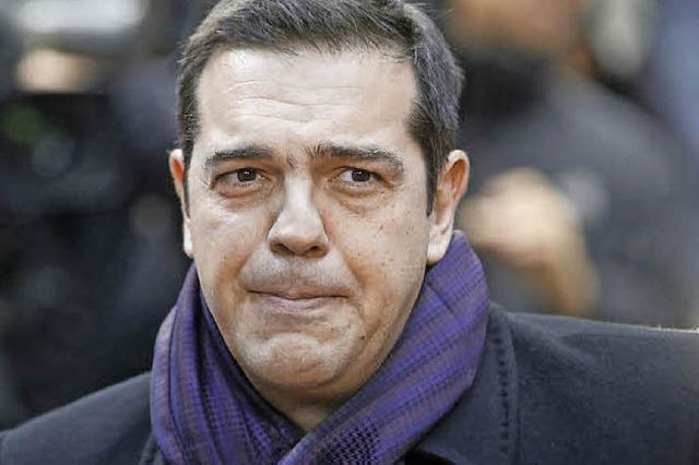 Um Alexis Tsipras wird es einsam