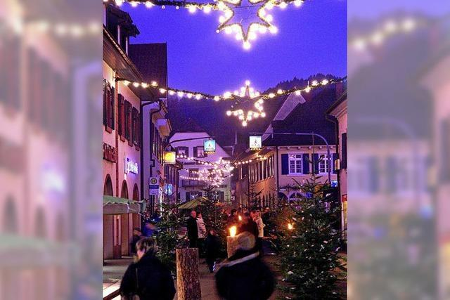 Zauberhafte Weihnachtsstraße
