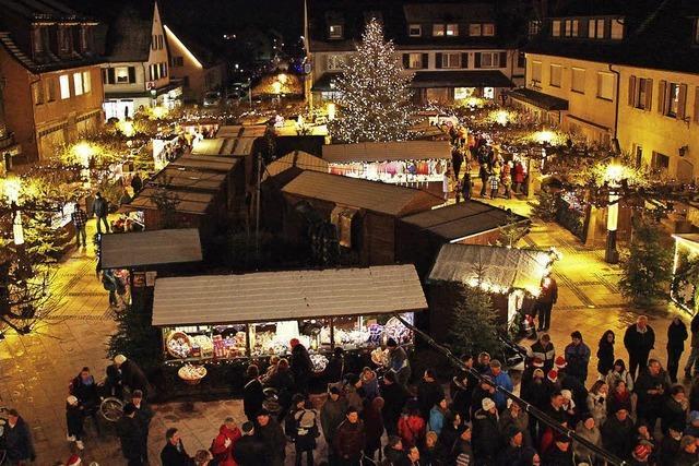 Verlosungen auf dem Weihnachtsmarkt