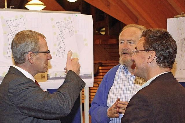 Entwurf für das Seniorenwohnen