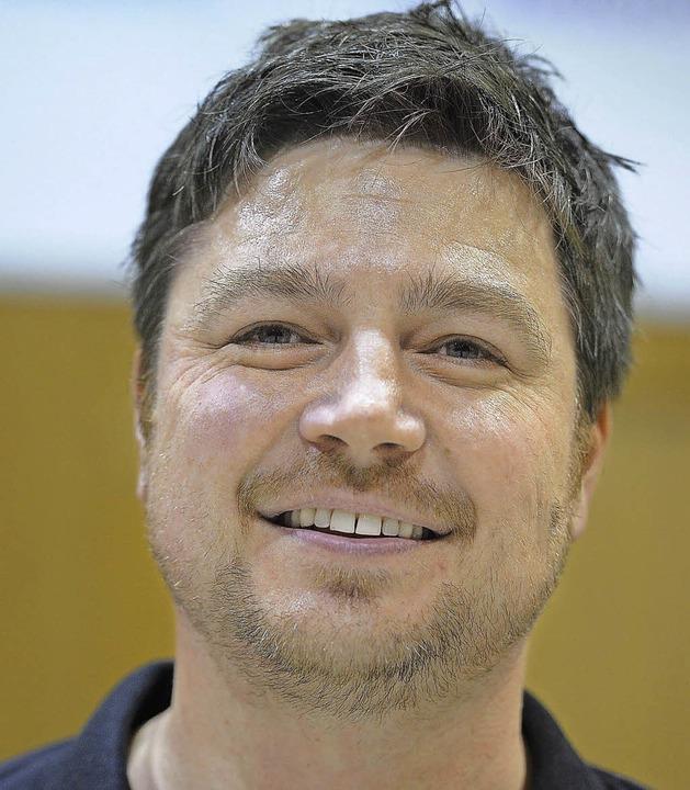Schwimmt mit seinem Team auf der Erfolgswelle: SG-Coach Marco Schiemann    | Foto: Keller