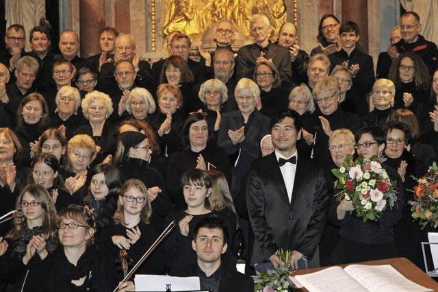 Auch das Publikum war Teil des Konzerts
