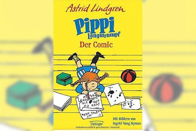 COMIC: Pippi in 36 Bildgeschichten
