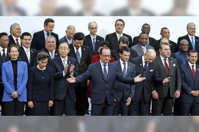 Klimakonferenz beginnt mit vielen großen Worten