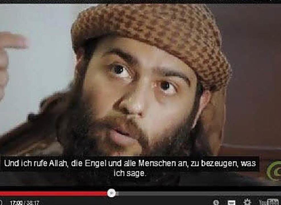Abdallah al-Muhaysini auf der Netzseite des IZRS   | Foto: BZ