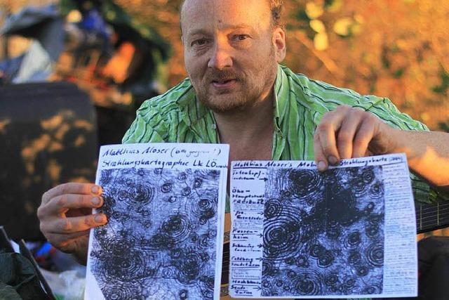 Matthias Moser lebt als Elektrosensibler in der Natur