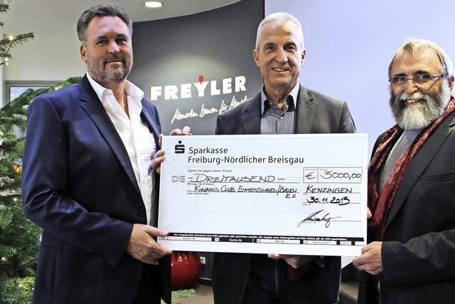 Freyler spendet 3000 Euro