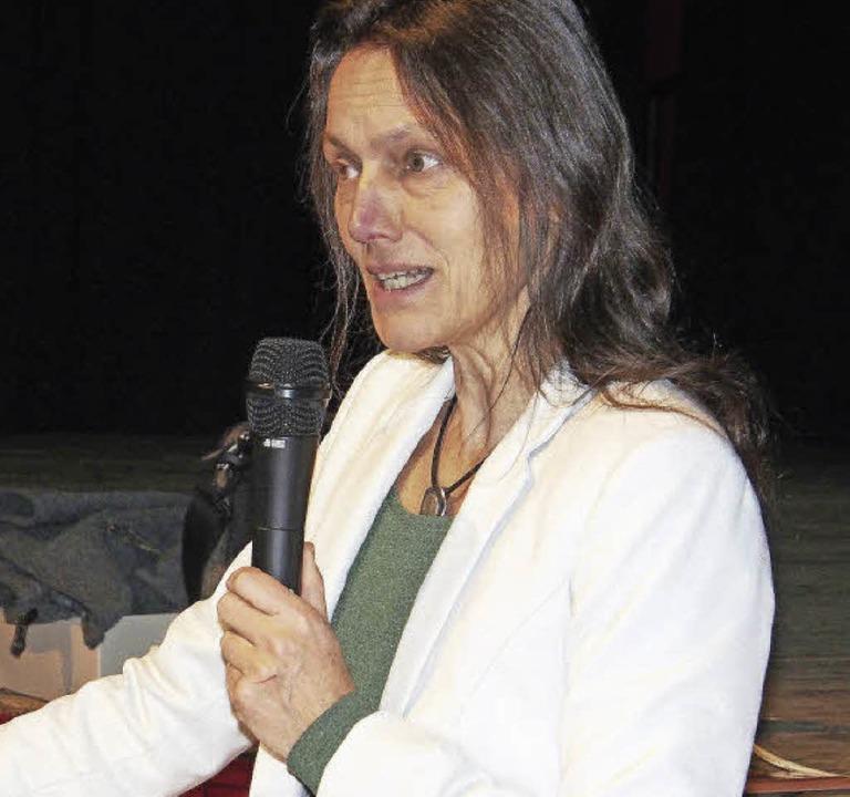 Ruth Götzmann von der Caritas  | Foto: Boris Burkhardt