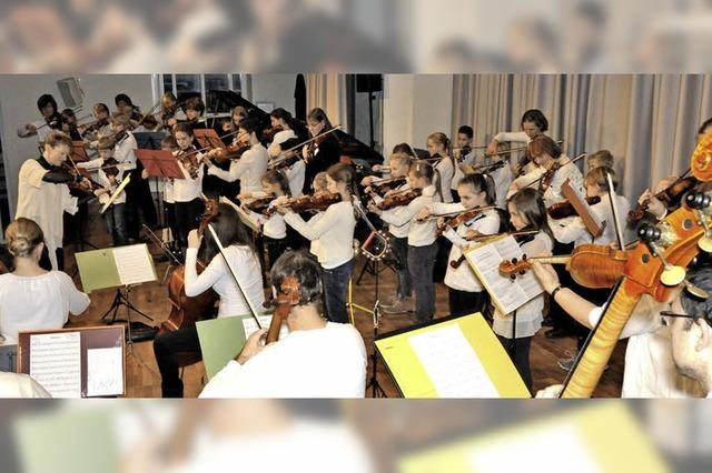 Musikschüler musizieren in Emmendingen