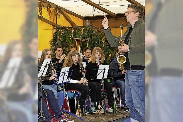 Leistungsabzeichen in Silber für Flötenspieler