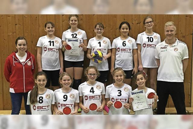 Erfolg für Volleyball-Nachwuchs