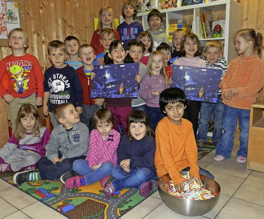Die Kinder der Villa Purzellino waren ...ringer für 128 Gewinnspielteilnehmer.   | Foto: Peter Stellmach