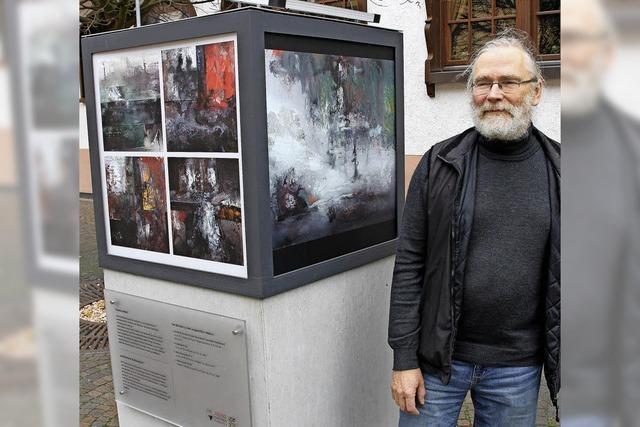 Ein Pianist, der malt, fotografiert und filmt