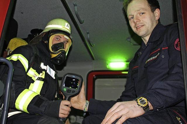 Eine Wärmebildkamera für die Feuerwehr Todtmoos