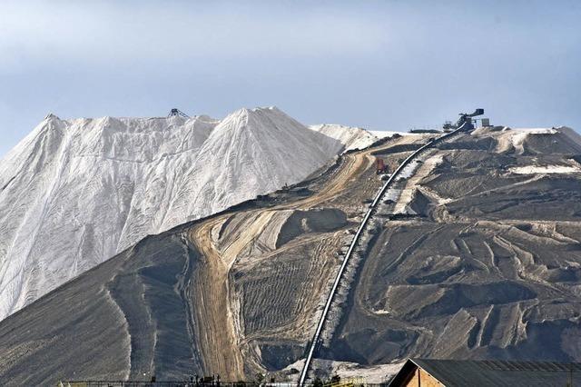 Salzproduktion stockt bei K+S