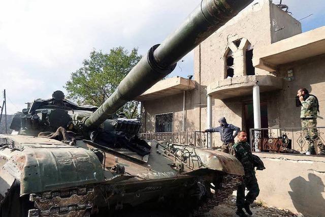Moskau verstärkt Militärpräsenz in Syrien