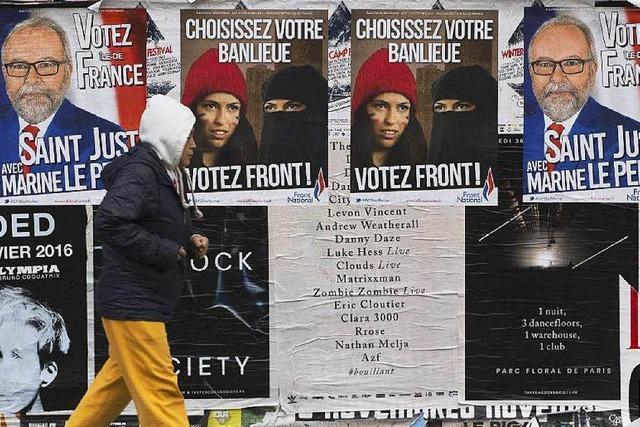 Front National könnte im Osten Frankreichs siegen