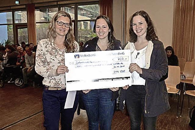 GSG spendet an Bruckwald-Gemeinschaft